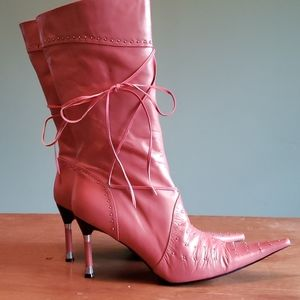 Firenze made in Italy spike heel boots